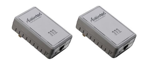Actiontec PWR211K01 200 Mbps Powerline Home Network Adapter - Ethernet Adapter Actiontec