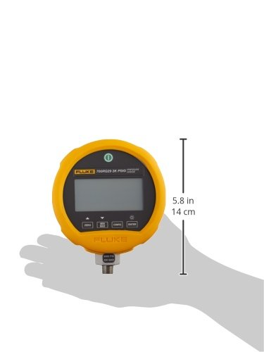 3 AA Alkaline Battery Fluke 700G Series Precision Pressure Test Gauge -14 to 10000 psi Range 0.001 psi Resolution