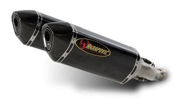 (Akrapovic Slip-On - Hexagonal Carbon Fiber Muffler , Material: Carbon Fiber S-S10SO4T-RC )