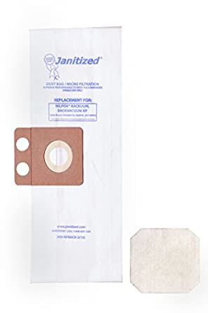 Amazon.com: janitized jan-nfback-2 (10) Premium aspiradora ...