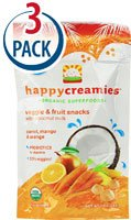 Happy Baby Happy Creamies Organic Superfoods Carrot Mango an