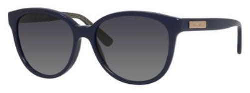 Jimmy Choo Sunglasses - Lucia/S / Frame: Blue Lens: Gray - Sunglasses Blue Jimmy Choo