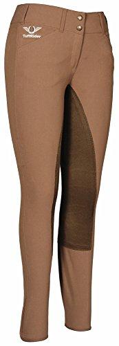 TuffRider Women's Piaffe Full Seat Breeches, Fawn/Coffee, 32