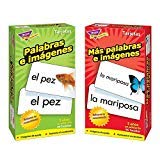 Spanish Flash Cards from Trend Enterprises, Picture Words &