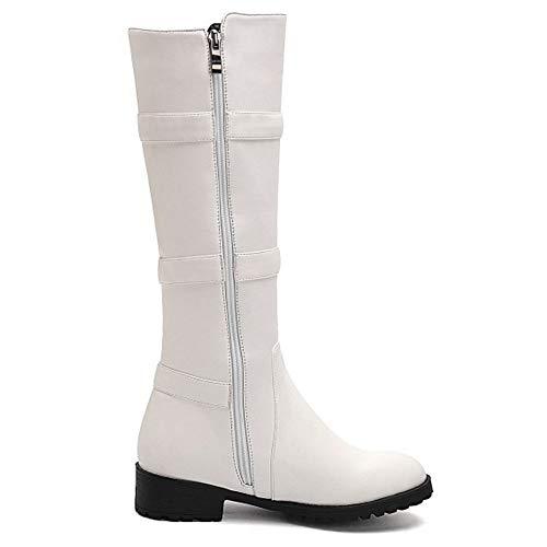 Altas Blanco Moda Botas On Melady Pull qAxnxF