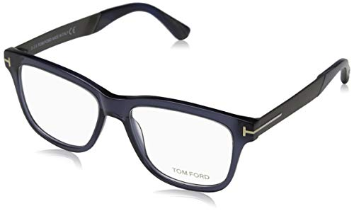 Tom Ford FT5372 Eyeglasses 090 Blue / Clear Lens ()