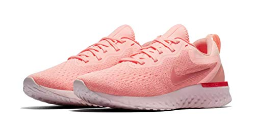 (Nike Womens Odyssey React Oracle Pink/Coral Stardust/Tropical Pink/Pink Tint AO9820-601 (10.5 B)