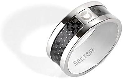 acciaio inossidabile Anello da uomo 11 Sector SLI73021