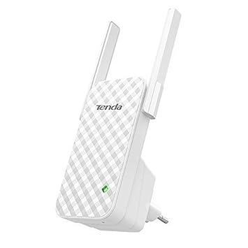 Tenda A9 N300 Repetidor de red Wifi Extensor Amplificador de Cobertura (300Mbps, 2 Antenas