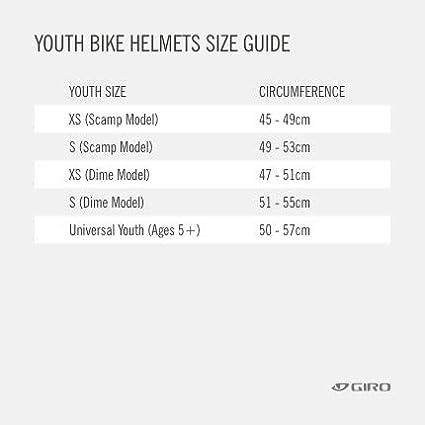 2021 50-57 cm Matte Blue Universal Youth Giro Hale MIPS Youth Visor Bike Cycling Helmet