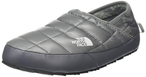 The North Face Men's Thermoball Traction Mule V, Zinc Grey/High Rise Grey, 12 M