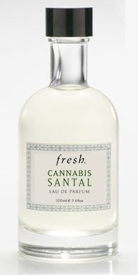 Fresh Cannabis Santal Eau de Parfum Spray for Men and Women (Unisex) Perfume - (3.4 oz / 100ml) - UNBOXED (100 Ml Unboxed Spray)