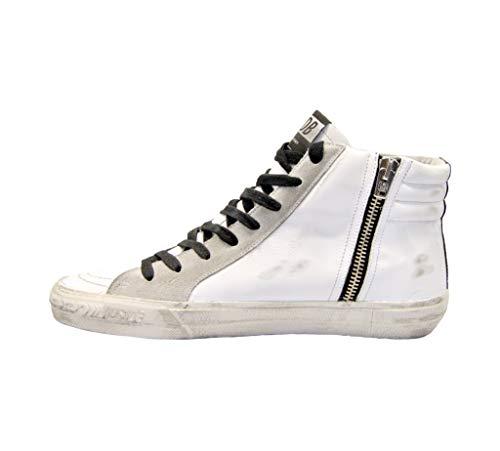 Goose Blanco Mujer Zapatillas Altas Golden G34ws595a30 Cuero qH6xwgyvp