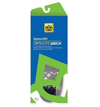 Spenco Orthotic Arch Supports - 3/4 Length SIZE 4