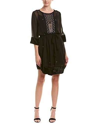 Velvet by Graham & Spencer Womens Cassidy Shift Dress, S, Black