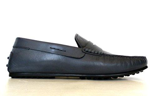Tods Hommes Mocassin Chaussures Mocassin Ville Oeillet Xxm0gw05470naru801 Lumière D'encre
