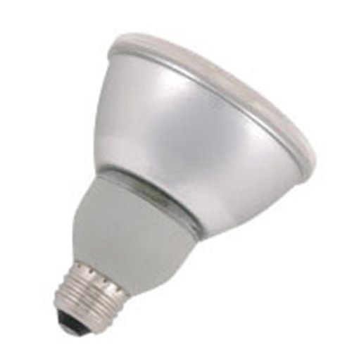 24 Qty. Halco 15W PAR30 3500K Med ProLume CFL15/35/PAR30 15w 120v CFL White Flood Lamp Bulb by Halco