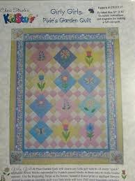Cheris Garden (Cheri Strole's Kid Stuff - Girly Girls - Pixie Garden Quilt sewing pattern)