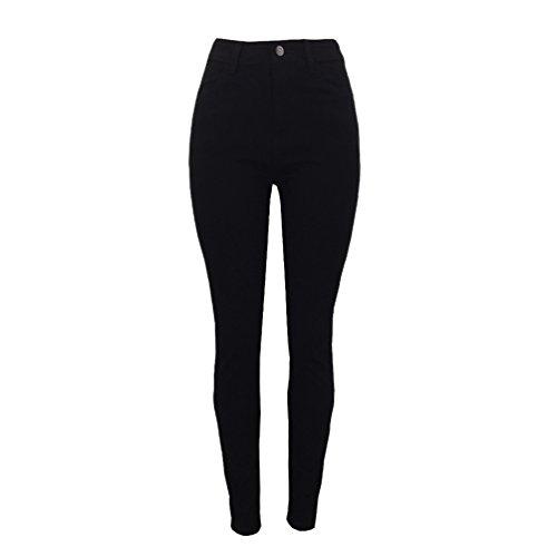 Pantaloni Skinny Jeans Donne Ricamo Sentao Fiore Alta Stile 1 Denim Vita Del Strappati Matita Eleganti twq5EnAEpd