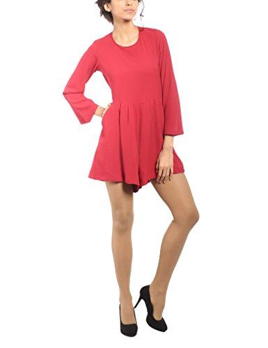 Tuta Rouge Femme Roma Corallo Robe Isabella Jumpsuit Rosso 5wZXxaq