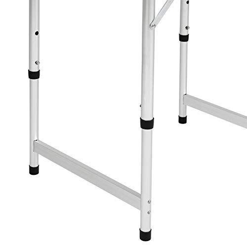 Best Choice Products 23 5x17 5in Portable Aluminum Folding