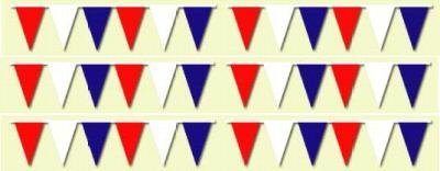 Red White Blue Pennants 120' String]()