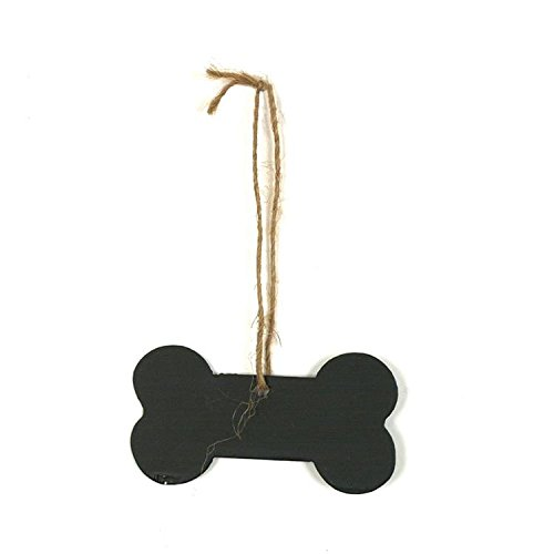 Dog Bone Chalkboard Tin Hanging Ornament