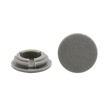 eDealMax Clips 20Pcs 14mm agujero del tornillo Sujetador del remache parachoques capilla Fender Splash retenedores