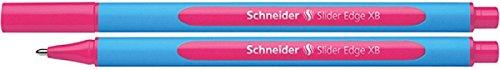 Schneider Slider Edge XB Ballpoint Pen, Pink, Box of 10 Pens (152209) Schneider Top Ball