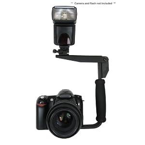 Flash Bracket (PivPo Pivoting Positioning) 180 Degrees (Nikon Shoe)