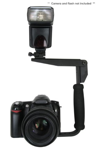 Flash Bracket (PivPo Pivoting Positioning) 180 Degrees (Nikon Shoe)
