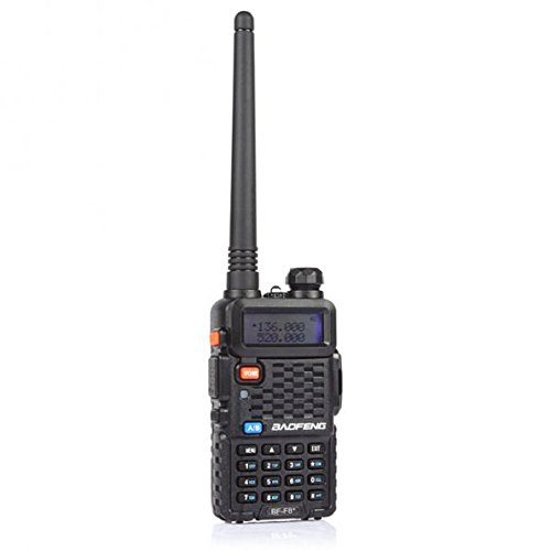 BaoFeng BF-F8+ 2nd Gen UV-5R Dual-Band 136-174/400-520 MHz FM Ham Two-Way Radio Transceiver