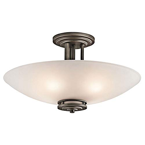 Amazon.com: Kichler 3677oz Hendrik 4-Light Semi-Flush en ...
