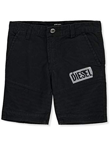 Diesel Boys' Big Casual Short, Mojito Black, 16 Diesel Kids Boys Clothing