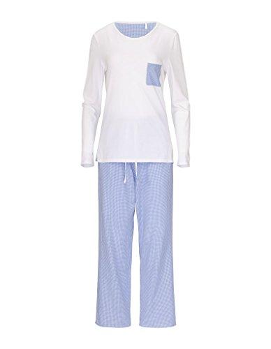 RÖSCH Femmes Pyjama 1163606 Wellness loungewear blanc 46