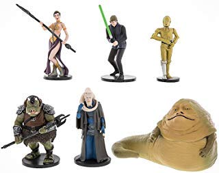 Disney Theme Parks Exclusive Star Wars Return of the Jedi Figure Playset (Star Wars Return Of The Jedi Leia)