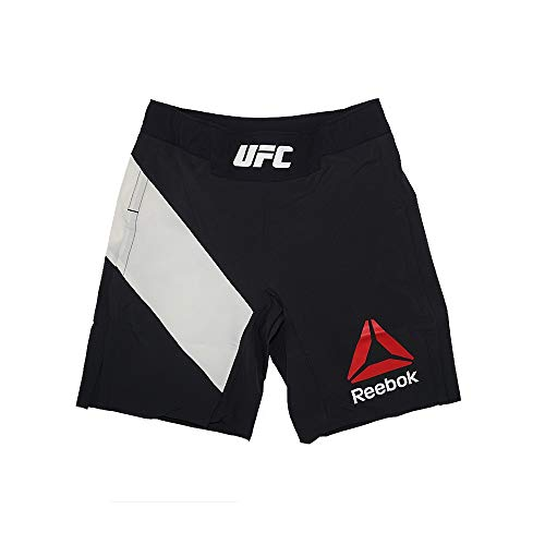 (Reebok UFC Crossfit Men's Black MMA Combat Gladiator Shorts)