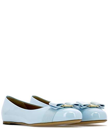 685242 Woman blu Salvatore Ballerine vernice in trasparente Ferragamo qaRHE