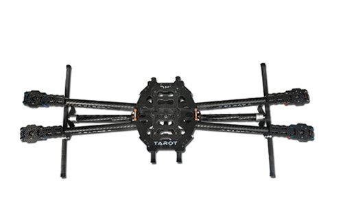 Price comparison product image ZJchao Tarot Iron Man 650 Carbon Fiber 4 Axis Aircraft Fully Folding FPV Quadcopter Frame Kit Tl65b01
