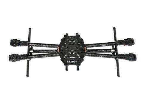 UPC 799632857044, ZJchao Tarot Iron Man 650 Carbon Fiber 4 Axis Aircraft Fully Folding FPV Quadcopter Frame Kit Tl65b01