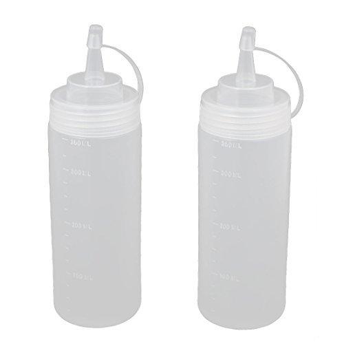 DealMux 2pcs 360ml 12 oz de plástico para alimentos botellas de compresión de condimentos Ketchup Mostaza Aceite Sal: Amazon.es: Industria, ...