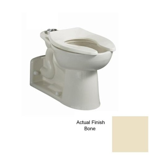 American Standard 3695.016.021 Bone Priolo Priolo Elongated Toilet Bowl Only with Right Height Bowl 3695.016
