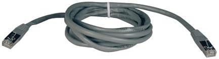 - Gray . de 10 pies Cat5e 350MHz Moldeado blindado Patch Cable N105-010-GY RJ45 M // M
