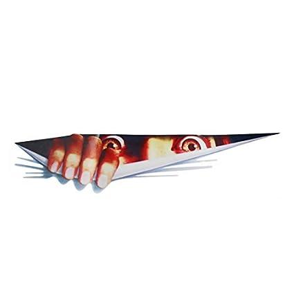 eDealMax 40,4 x 9 cm Patrón 3D Peeper mal de ojo auto-adhesivo