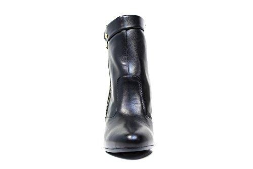 Nero GiardiniMujer trozo de cuero negro en el artículo 100 A616363DE Negro Made in Italy Otoño Invierno 2016 2017