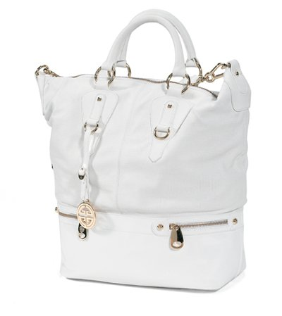Giovanni Giusti (Barbara) Women's Designer White Handbags: Amazon ...