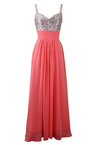 Beaded Slim Evening Gown - 9