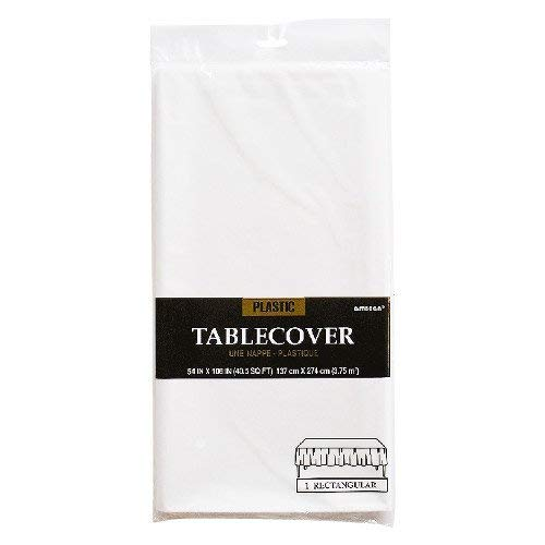 Amscam 77015.08 Rectangular party-tablecovers, 54
