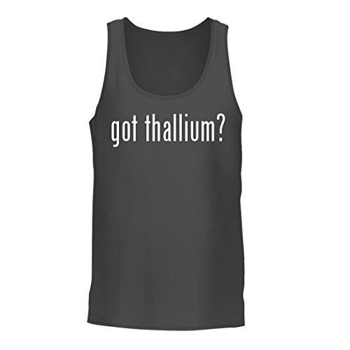 got thallium? - A Nice Men's Tank Top, Grey, Large