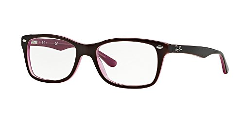 c1dbbb4704 Ray-Ban Optical 0RX5228 Square Sunglasses for Womens - Size - 55 (Brown/
